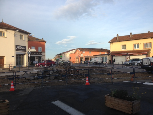 chantier centre ville